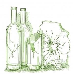 Вывоз и утилизация стекла